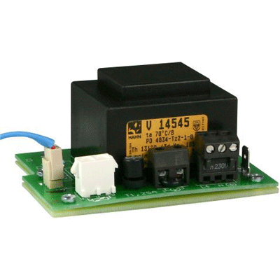 eneo NE-112/AC24V power supply and battery with pluggable secondary cable with open ends