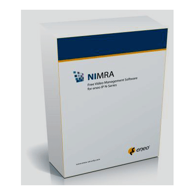 eneo NIMRA CCTV software with alarm alert function