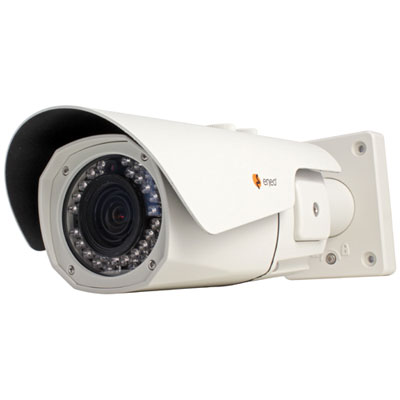 Plug and play in perfection: The VKC-13100/IR2810 bullet camera in a compact IP68 rated housing