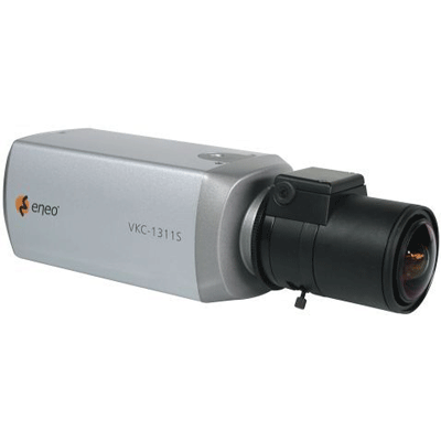 eneo VKC-1311S/12-24 CCTV camera with high sensitivity