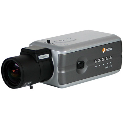 eneo VKC-1350: WDR camera with new design for 24h surveillance