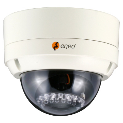 eneo VKCD-1324/IR fixed day & night colour dome camera with 540 TVL