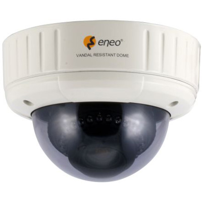 eneo VKCD-1326/IR fixed day & night colour dome camera with 550 TVL