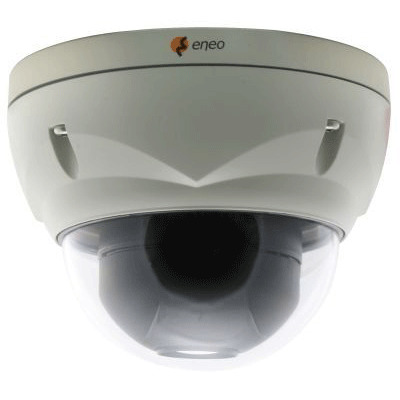 eneo VKCD-1416B dome camera with motion and face detection