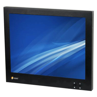 eneo VMC-10.4LCD-CM CCTV monitor with multi language on-screen menu control
