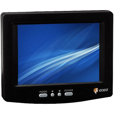 eneo VMC-5.6/2-LCD CCTV monitor with on-screen menu control