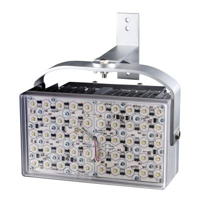 eneo W LED300K-140 LED white light illuminator with 100 m illumination range