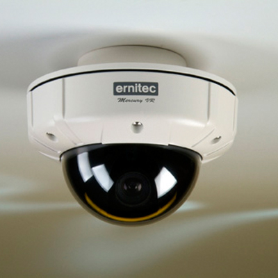 New vandal resistant Mercury mini dome from Ernitec