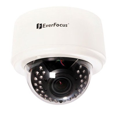 Everfocus ED 335 dome camera with automatic IR cut filter