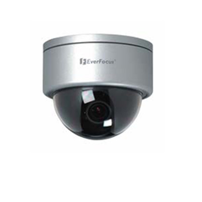 Everfocus ED 560 T 1/3 inch vandal resistant outdoor day/night dome camera, automatic IR cut filter