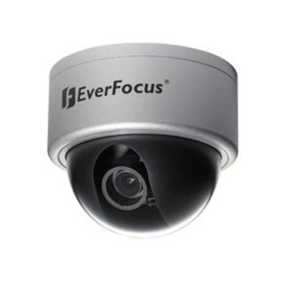 Everfocus ED610 wide dynamic & true day / night outdoor vandal dome camera