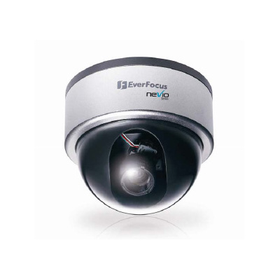 Everfocus EDN800 vandal resistant day/night network dome camera with 3.7 ~ 12 mm varifocal lens