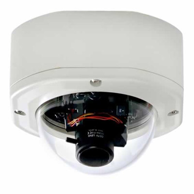 Everfocus EHD 525 EX high resolution day/night rugged dome camera with 520 TVL