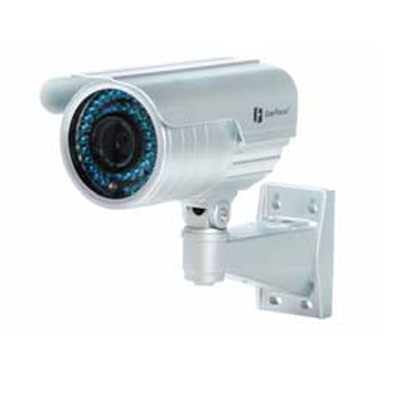 Everfocus EZ 425 1/3 inch outdoor day / night camera with IR LED