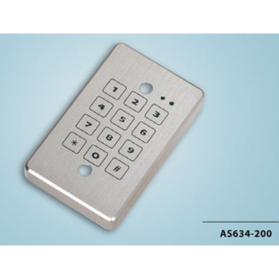 Everswitch AS-634-200 single gang mount electronic keypad from Baran Advanced Technologies