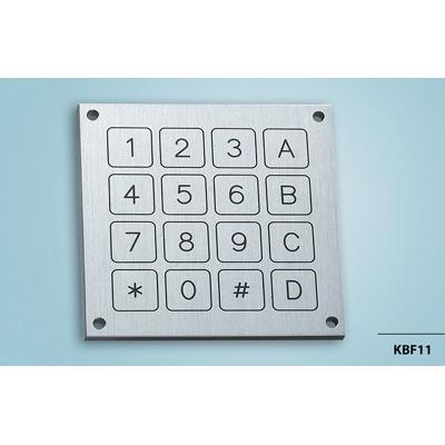 Everswitch KBF11 Piezoelectric keypad from Baran Advanced Technologies