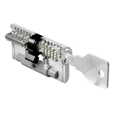 EVVA 3KSplus (3-curve system): The outstanding system for maximum security