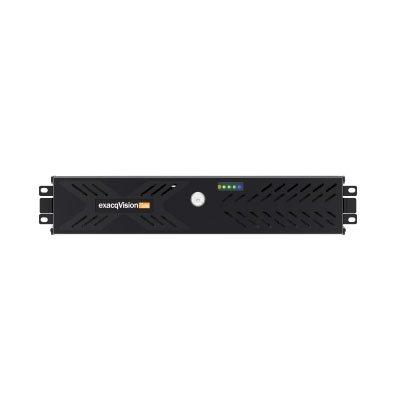 exacqVision Z-Series 2U network video recorder