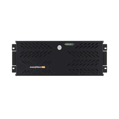 exacqVision Z-Series 4U network video recorder