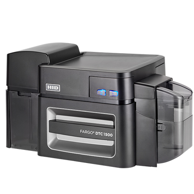 HID FARGO DTC1500 ID Card Printer & Encoder