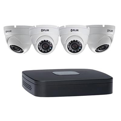 FLIR Systems DN1142E44 4 Cameras, 4 Channels, 2TB HDD