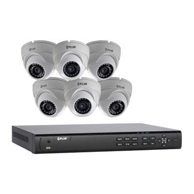 FLIR Systems DN4083E64/P 6 Cameras, 8 Channels, 3TB HDD