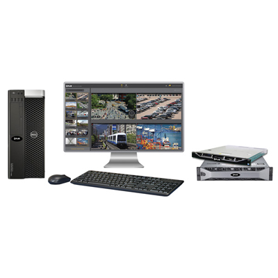 FLIR Systems HRZ-NVRENT-16 Horizon 2U NVR RAID Server W/ 24 Video Channels