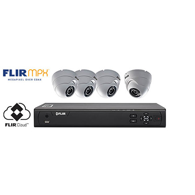 FLIR Systems M31041C4 megapixel over coax security systems with multisite viewing