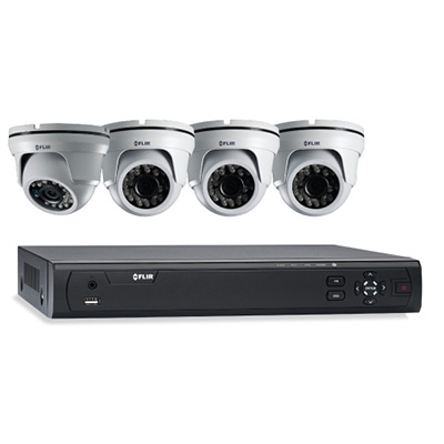 FLIR Systems M3104E1A4/P 4 Cameras, 4 Channels, 1TB HDD