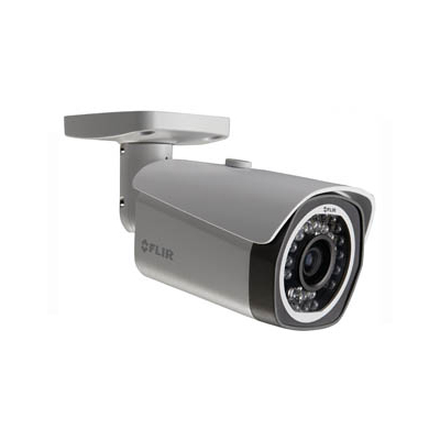 FLIR Systems N133BBP 1MP Fixed Mini Bullet IR IP Camera