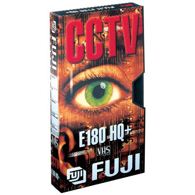 Fuji HQ E-180 CCTV VHS tape for video recording