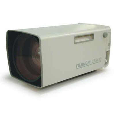 Fujinon C55x13.5R3S-ESF telephoto zoom CCTV camera lens