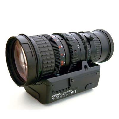 Fujinon H16X10B-Y41 CCTV camera lens with C mount