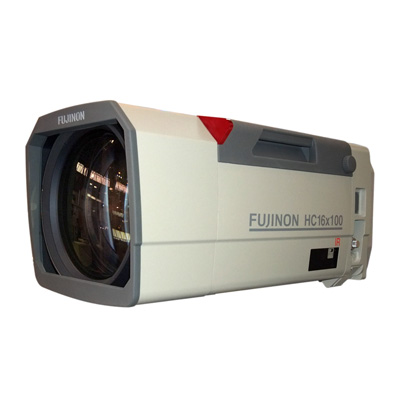 Fujinon HC16x100R2CE-F11 day and night CCTV camera lens with auto iris