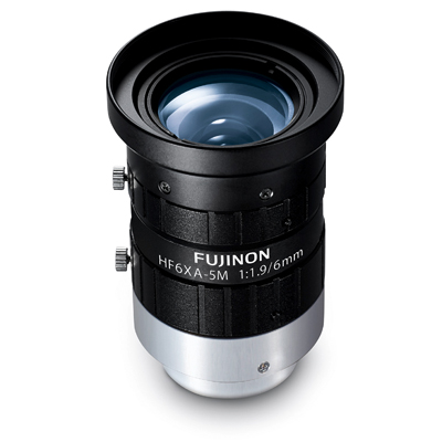 Fujinon HF6XA-5M wide-angle lens for Machine Vision