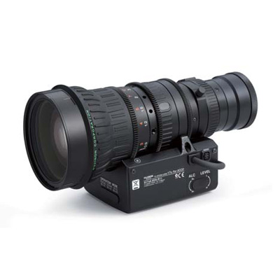 Fujinon S17x6.6DA-R11 CCTV camera lens with C mount and auto iris