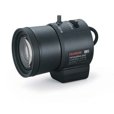 Fujinon YV10x5HR4A-SA2L varifocal CCTV lens with CS mount