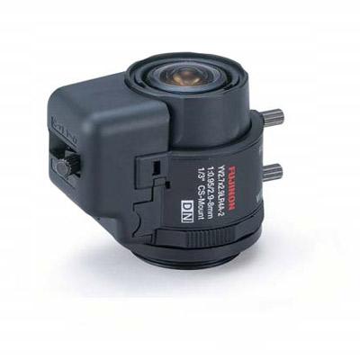 Fujinon YV2.7x2.9LR4D-2 - a varifocal lens for monochrome or colour cameras