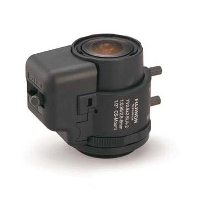 Fujinon YV2.8x2.8LA-2 varifocal lens with 2.8 ~ 8mm focal length