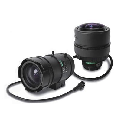 Large product range of 3 megapixel Varifocal lenses for day & night
