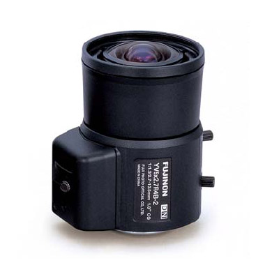 Fujinon YV5x2.7R4B-2 varifocal CCTV lens with manual iris