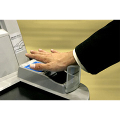 Fujitsu's contactless Palm Vein authentication technology offers a helping hand