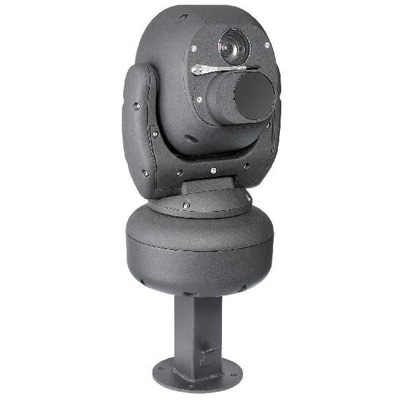 Ganz C-ATDNX36H is a high speed rugged dual thermal and optical pan / tilt camera with 530 TVL