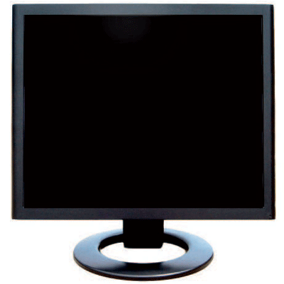 Ganz C-ML217VC CCTV monitor with built in speaker
