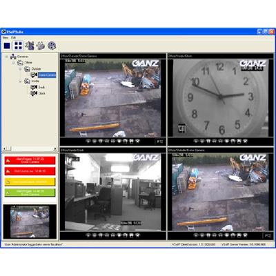 Ganz C-NV-CLIENT VSoIP Network Video Recorder
