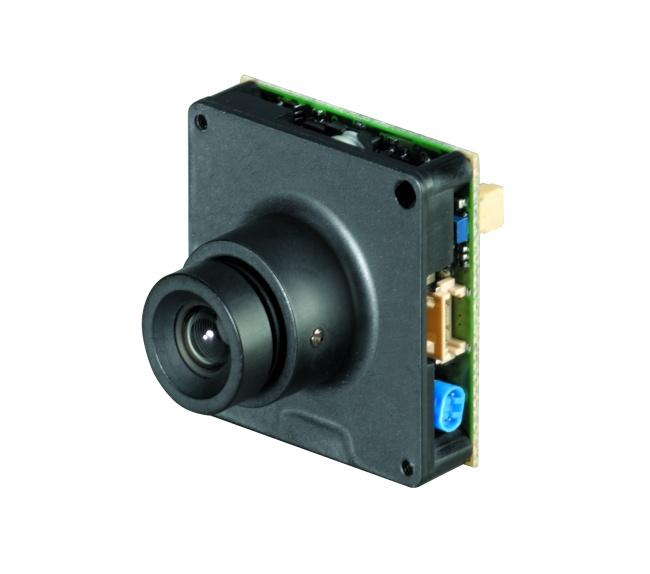 Ganz CMH212 is a high resolution colour and B&W board camera with 480 TVL