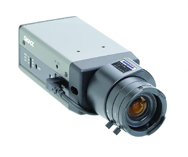 Ganz YC-30P Colour Standard Res is a colour camera with 330 TVL