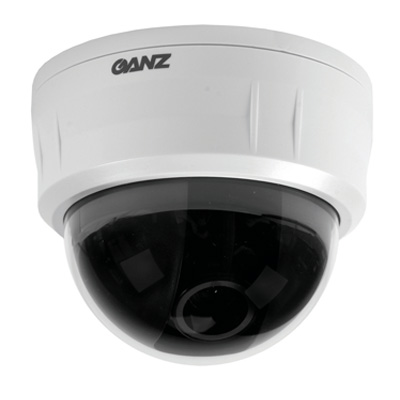 Ganz ZC-D4312PHA dome camera with a high performance CCD image sensor and a super high resolution of 540 TVL