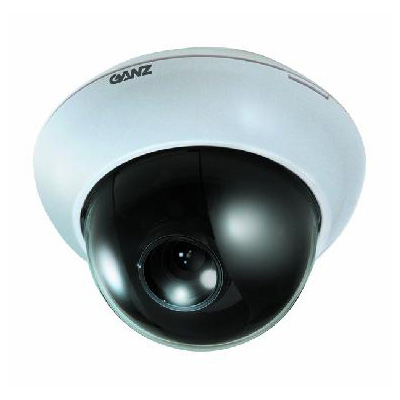 Ganz ZC-D5212PHA is a colour dome camera with varifocal 2.8 - 12 mm lens
