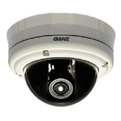Ganz ZC-DT4039PHA is a vandal-resistant dome camera with 540 TVL